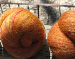 Volcano Batts: mixed wools