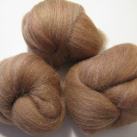 Desert Batts: mixed wools and silk