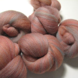Canyon batts: corriedale, portuguese wool, silk