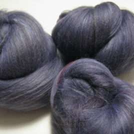 Shadows batts: merino, corriedale, and silk