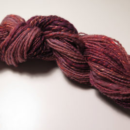 Orchid: thick-and-thin yarn, falkland & silk