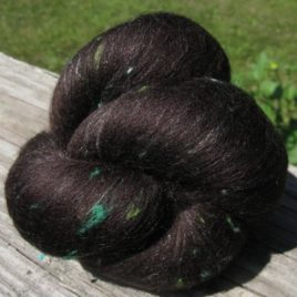 Garden Shoots Batts: merino, silk, silk noil