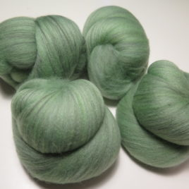 Temperate Rainforest batts: polwarth & silk