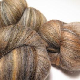Tiger batts: mixed wools